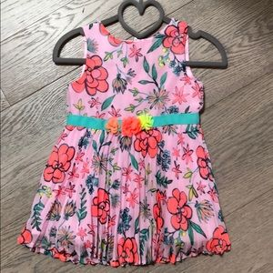 ⭐️ Cat and Jack floral dress 18 months